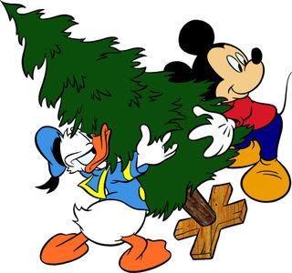 Christmas-Mickey-Donald-Tree
