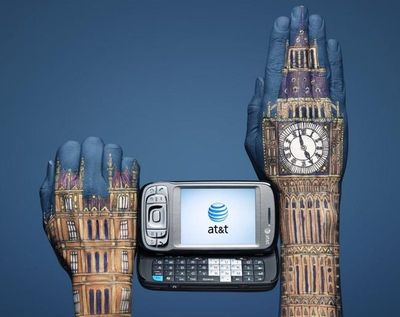 Hand-art-big-ben-england
