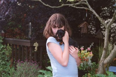 Katy & Buster June 2000