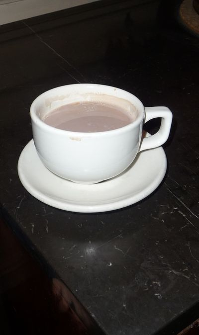 Aidan Dark Hot Chocolate from the Mayflower Hotel