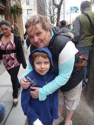 Aidan & Nana on Chocolate Tour