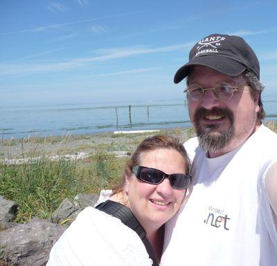 Mike & Nancy at Sequim July 3, 2009