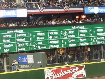 Baseball Game - M's vs. Tigers 044